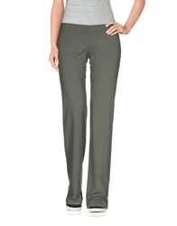 Fisico Cristina Ferrari Trousers Casual Trousers Women Military Green
