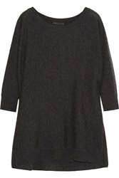 Alice Olivia Draped Wool And Cashmere Blend Sweater