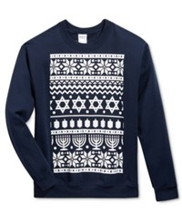 American Rag Men's Star Graphic Print Sweatshirt Only At Macy's Blue