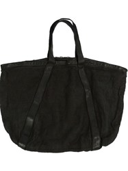 Guidi Large Tote Bag Black