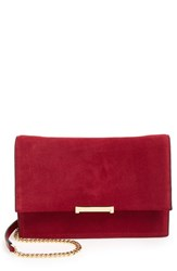 Ivanka Trump 'Mara' Convertible Leather Clutch Pink Cerise