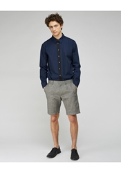 Peter Jensen Tweed Effect Trouser Shorts Black