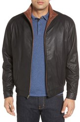 Remy Leather Men's 'Lite' Lambskin Jacket Peat