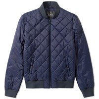 Barbour Steve Mcqueen Quilt Jacket Blue