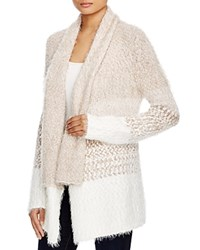 Cupio Textured Color Block Cardigan