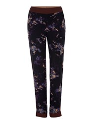 Noa Noa Trousers Multi Coloured Multi Coloured
