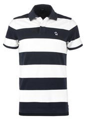 Abercrombie And Fitch Core Muscle Fit Polo Shirt Navy Bold Blue