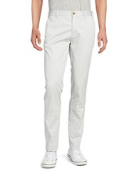 Brooks Brothers Twill Flat Front Pants Grey