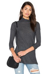 Line Lionel Sweater Dress Charcoal