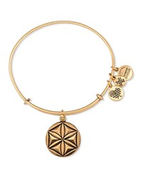 Alex And Ani Aphrodite's Flower Expandable Wire Bangle