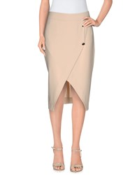 Siste's Siste' S Skirts Knee Length Skirts Women Beige
