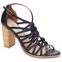 Collection Weekend By John Lewis Issoire Block Heeled Sandals Black
