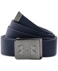 Under Armour Webbed Golf Belt Academy Blue