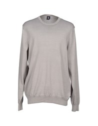Marina Yachting Knitwear Jumpers Men Light Grey