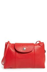 Longchamp 'Le Pliage Cuir' Crossbody Bag