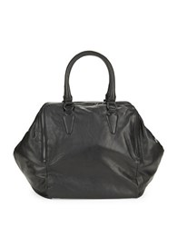 Liebeskind Kayla Leather Satchel Black