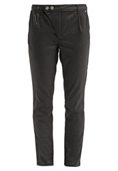 Cream Carrie Trousers Dark Grey Anthracite