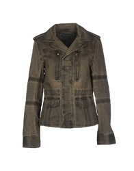 Zadig And Voltaire Coats And Jackets Jackets Women Military Green