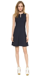 Theory Edition Miyani Dress Navy
