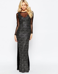 Vesper Harlow Maxi Dress Black