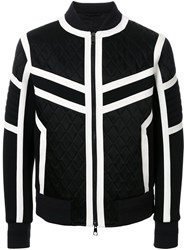 Neil Barrett Contrast Details Jacket Black