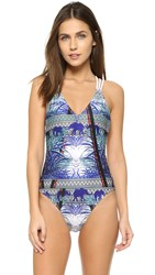 We Are Handsome Empire Lattice Swimsuit