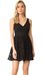 Bb Dakota Lanson Lace Dress Black