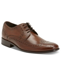 Bostonian Alito Wing Tip Lace Up Shoes Men's Shoes Tan