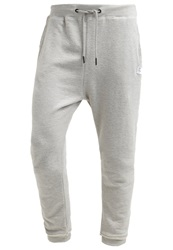 Tom Tailor Denim Tracksuit Bottoms Melange Mottled Grey