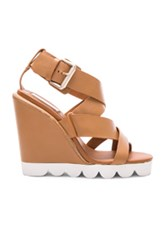 See By Chloe Leather Tiny Wedges In Neutrals