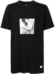Stampd Photo Collage Print T Shirt Black