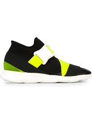 Christopher Kane Safety Buckle Sneakers Black