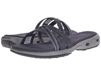 Columbia Inagua Vent Slide Shark Light Grey Women's Sandals Black