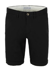 Ben Sherman Stretch Slim Chino Short Jet Black