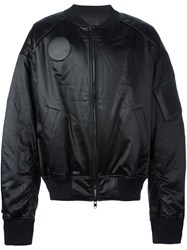 Juun.J Oversized Bomber Jacket Black