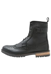 Superdry Brad Laceup Boots Black