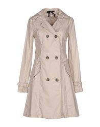 Scee By Twin Set Coats And Jackets Full Length Jackets Women Light Grey