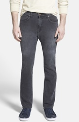 Agave 'Superbank' Relaxed Straight Leg Knit Jeans Vintage Grey