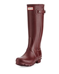 Hunter Original Slim Textured Welly Boot Dulse
