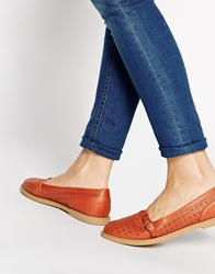 Truffle Collection Rose T Bar Flat Shoes Tan