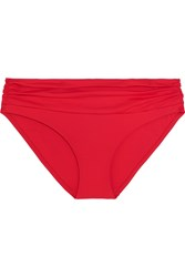 Melissa Odabash Bel Air Bikini Briefs Red