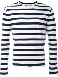 Ermanno Scervino Sailor Stripe Sweater White