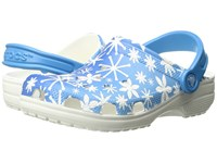 Crocs Classic Snowflake Clog Bluebell Clog Shoes