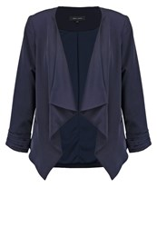 New Look Katy Blazer Navy Dark Blue