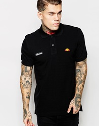 Ellesse Polo Shirt Black