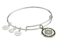 Alex And Ani Color Infusion Compass Expandable Bangle Silver Avocado Bracelet Green