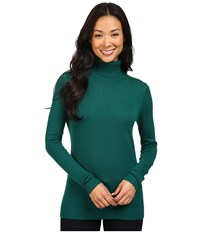 Pendleton Timeless Turtleneck Forest Women's Clothing Green