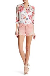 Jessica Simpson Embroidered Short Pink