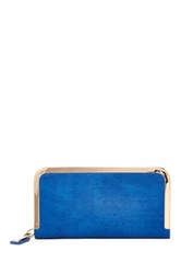 Urban Expressions Trenton Metal Edge Wallet Blue