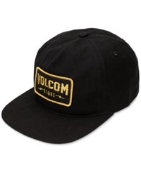Volcom Men's Badger Hat Ink Black